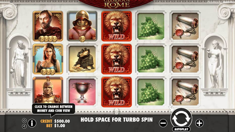 Glorious Rome Pokies