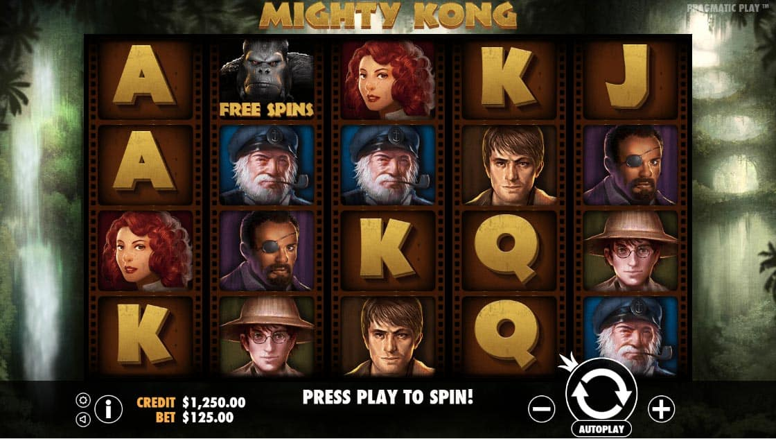 Mighty Kong Pokies