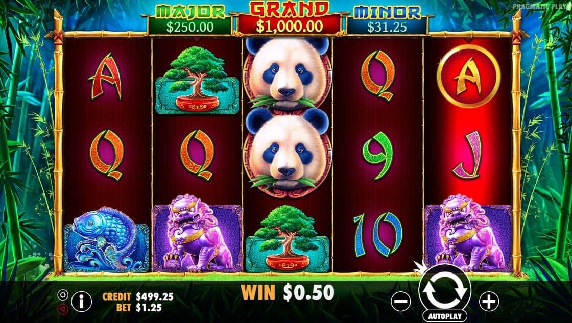 Panda's Fortune Pokies
