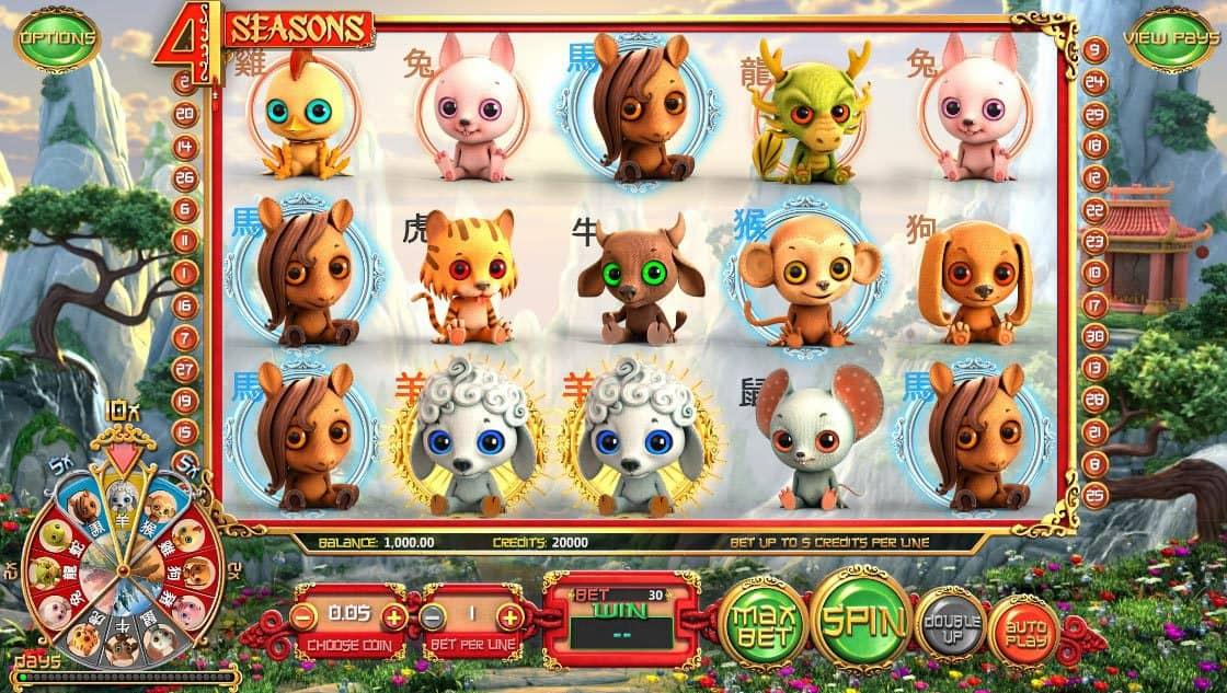 4 Seasons Pokies