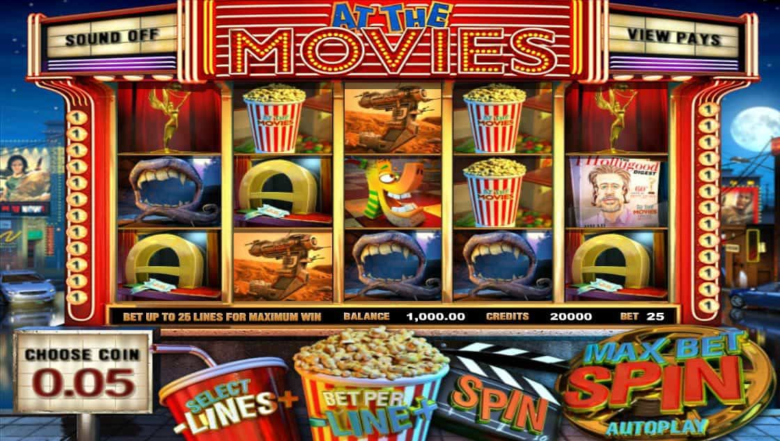 At the Movies Pokies