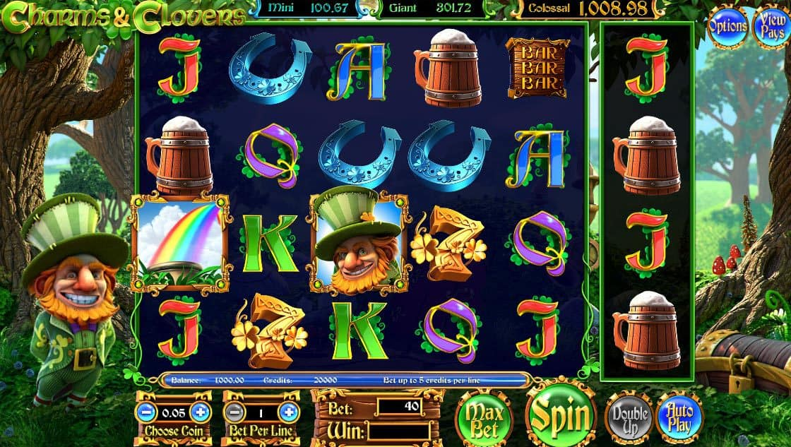 Charms & Clovers Pokies