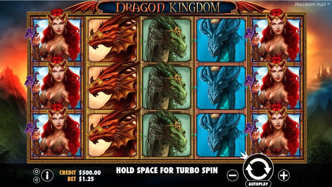 Dragon Kingdom Pokies