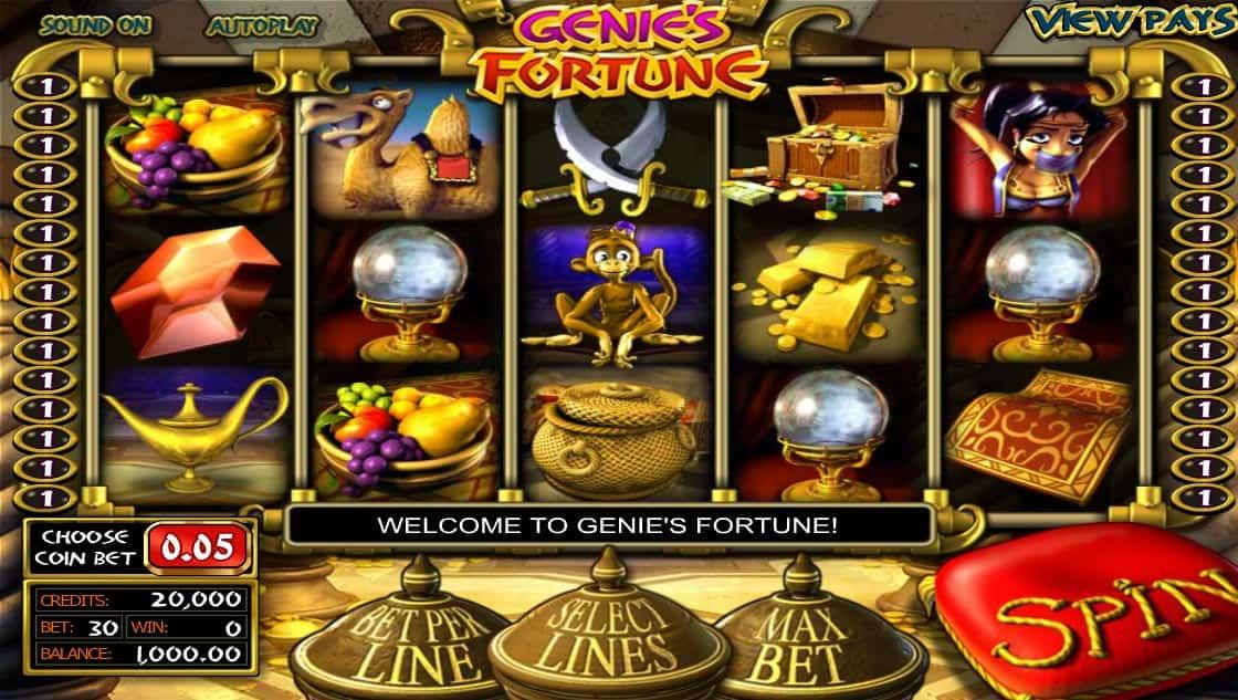 Genies Fortune Pokies