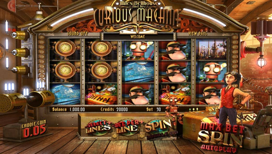 The Curious Machine Pokies