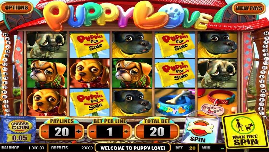 Puppy Love Pokies