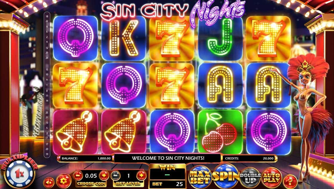 Sin City Nights Pokies