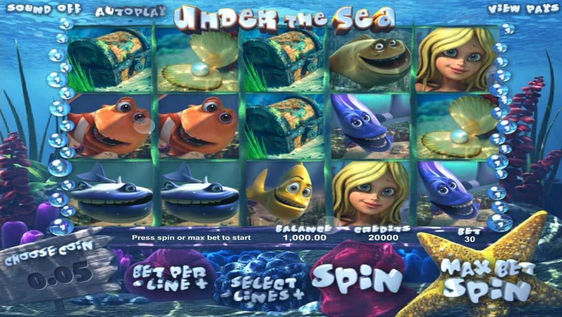 Under The Sea Pokies