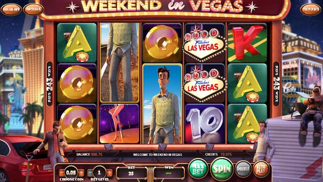 Weekend in Vegas Pokies