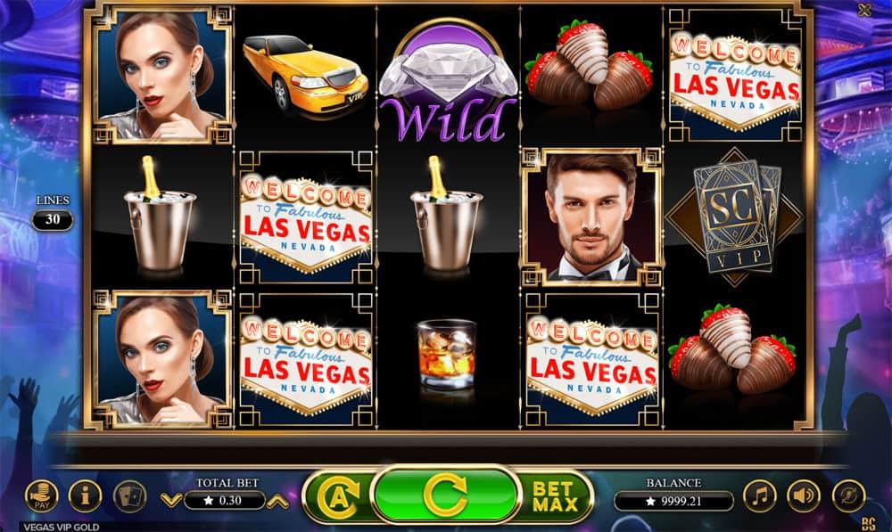 Vegas VIP Gold Pokies