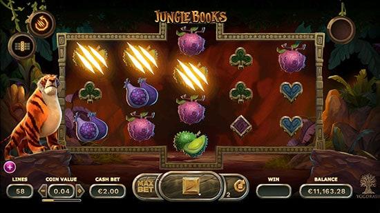 Jungle Books Slot