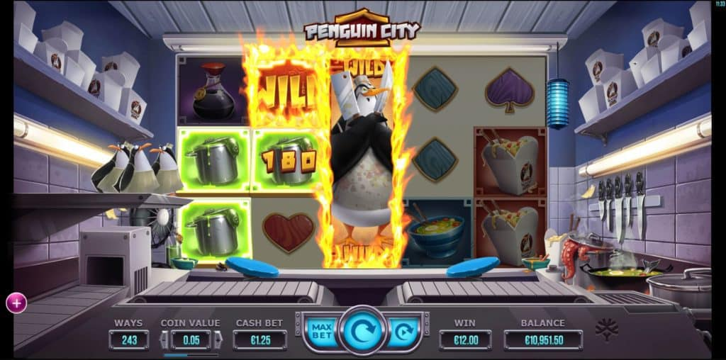 Penguin City Online Pokies