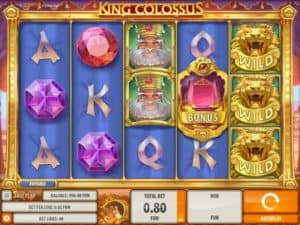 King Colossus Slot by Quickspin