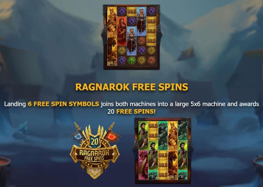Age of Asgard Slot Bonus