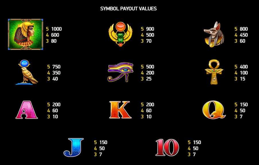 Cleo's Gold Symbols
