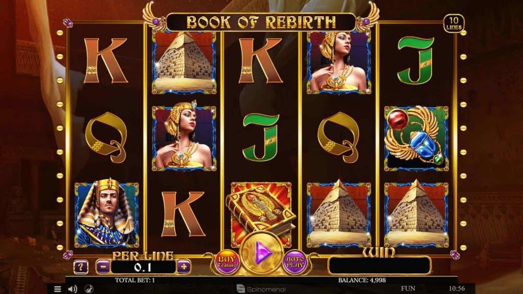 Book of Rebirth Pokies