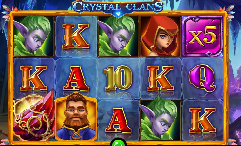 Crystal Clans Pokies