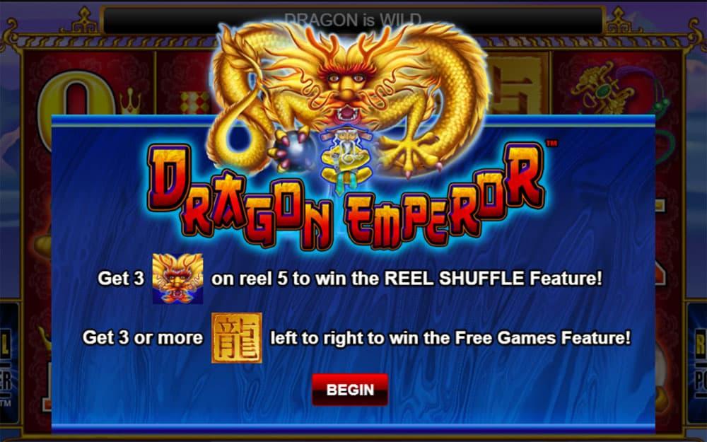 Dragon Emperor Pokies Bonus