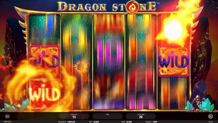Dragon Stone Pokies Payout