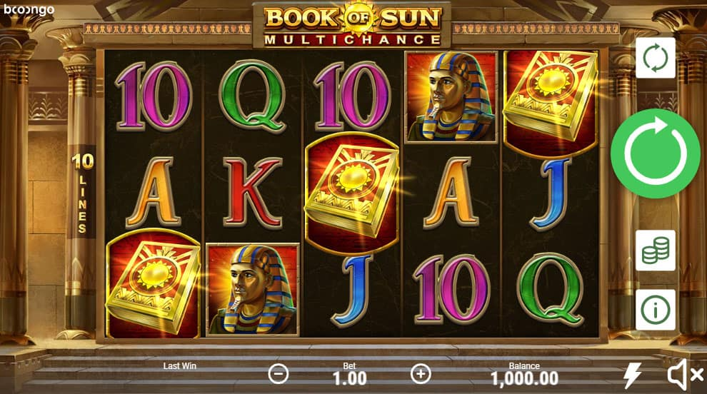 Book of Sun Pokies