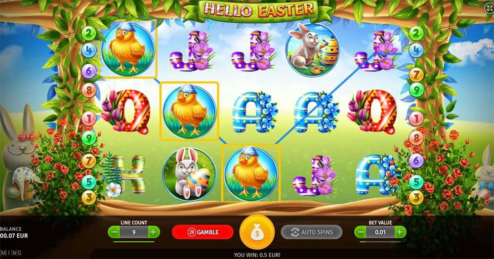 Hello Easter Pokies Slot