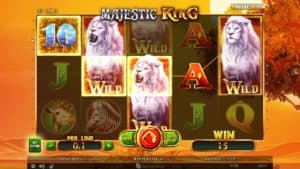 Majestic King Online Pokies
