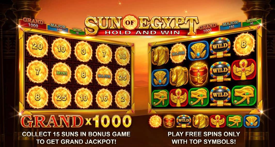 Sun of Egypt Bonus