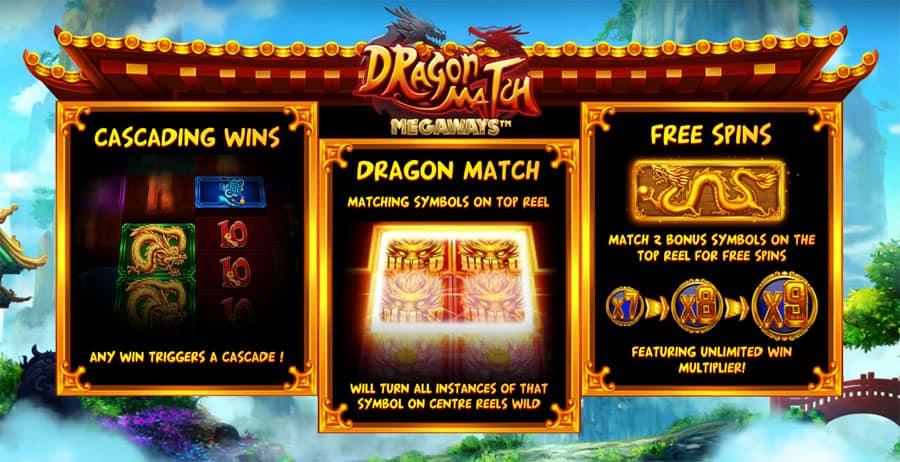 Dragon Match Megaways Bonus