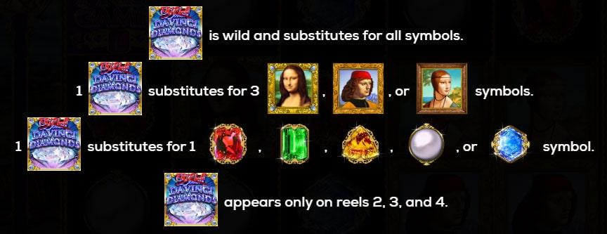 Da Vinci Diamonds Pokies