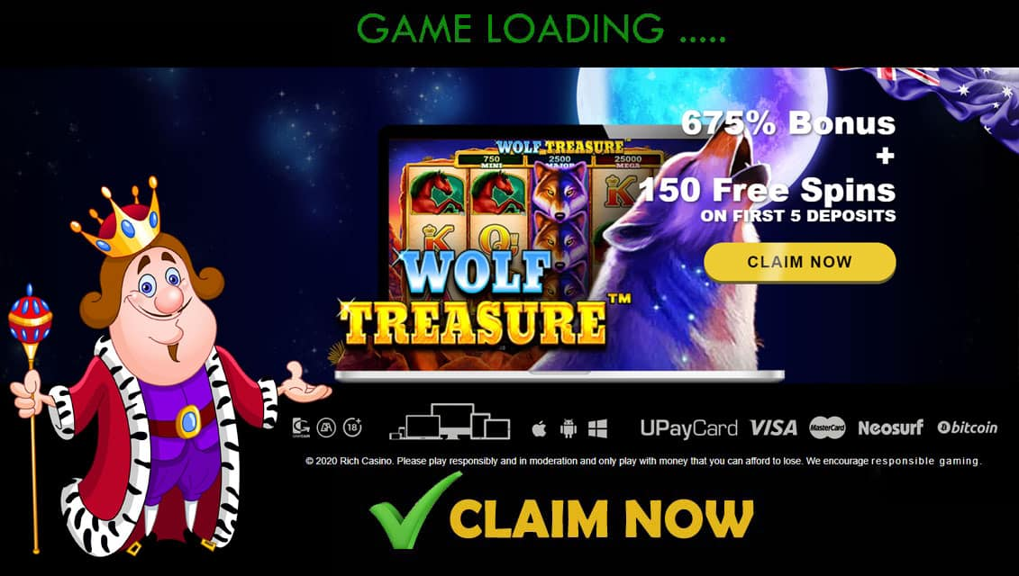 Rich Casino Welcome Bonus Offer