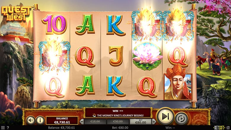 Quest to the West Pokies