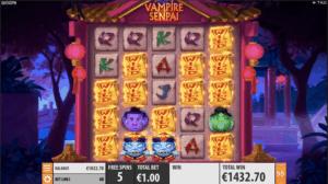 Vampire Senpai Online Pokies