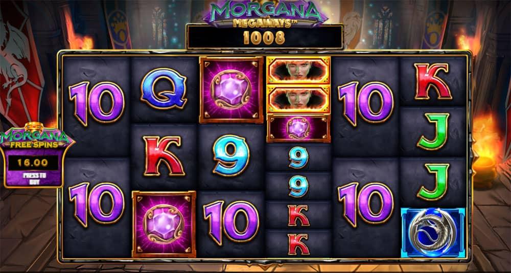 Morgana Megaways iSoftBet Pokie