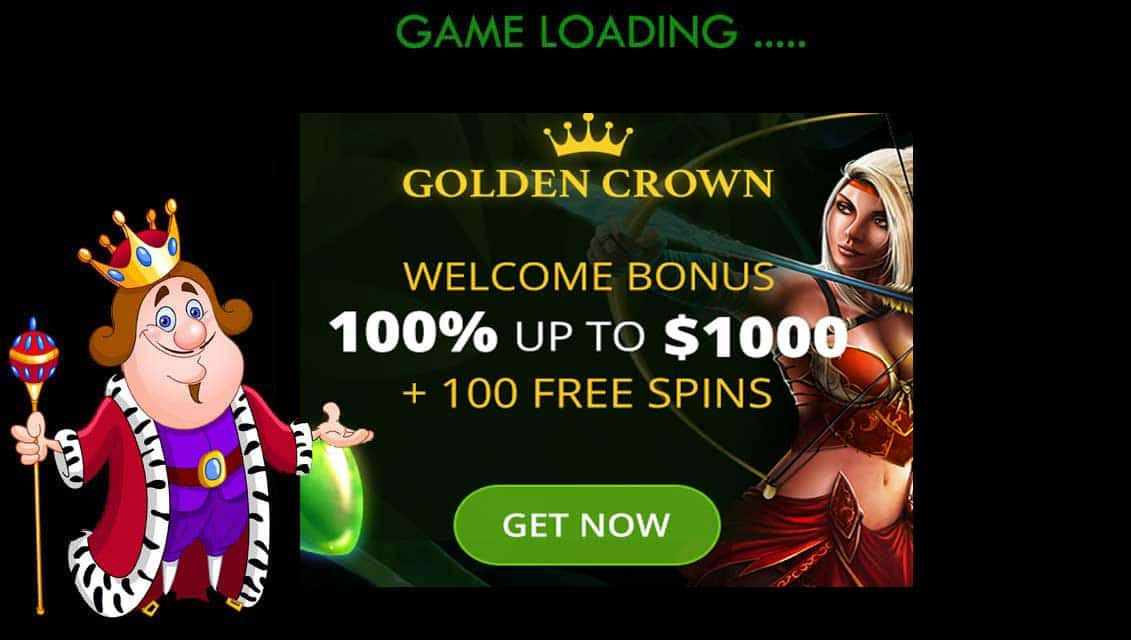 Golden Crown Casino Welcome Bonus Offer