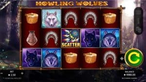 Howling Wolves Slot